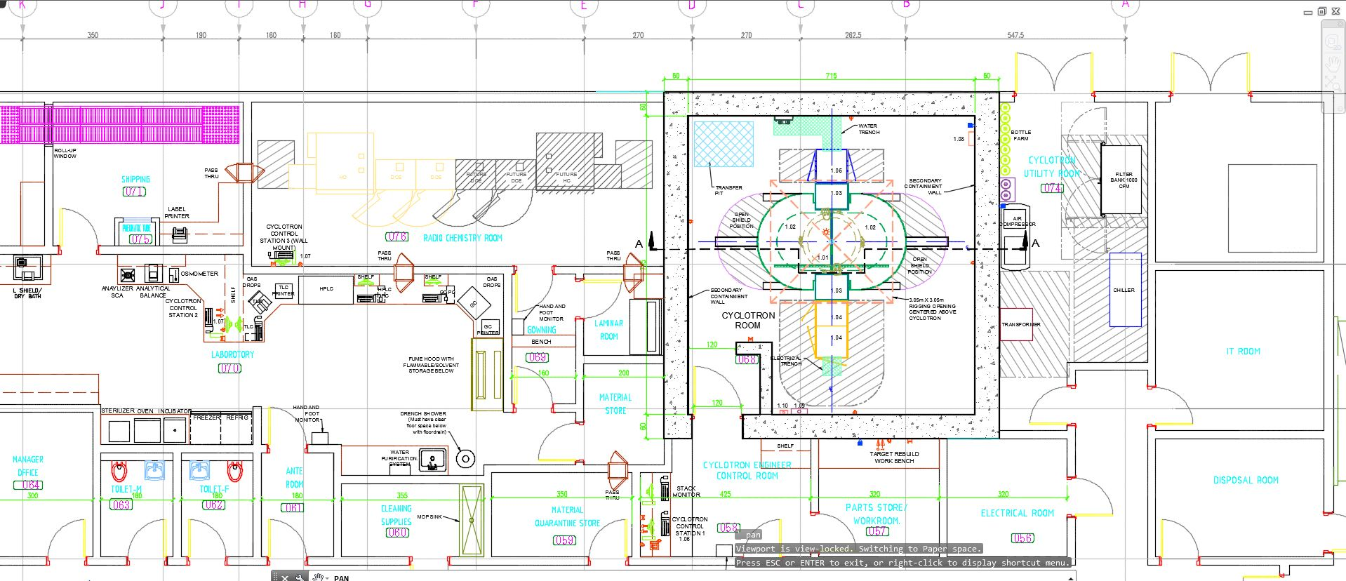 Cyclotron Room Design